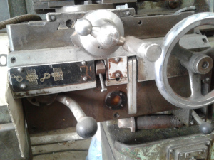 lathe end stock
